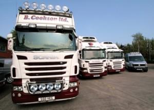 trucks line
